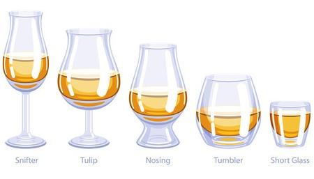 Il bicchiere da whisky ideale for Bicchieri tulipano